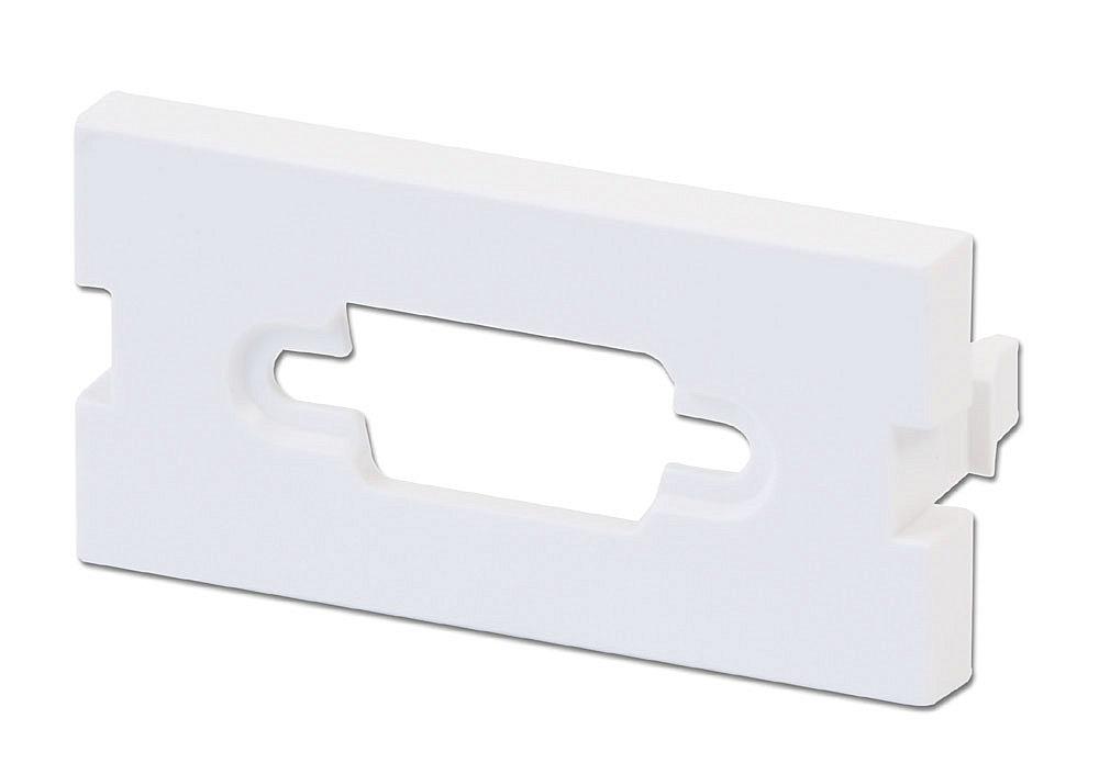 Snap-In-Modul für 1x HD-15/VGA oder Sub-D-9 Stecker für Wanddosen (4 Stück)