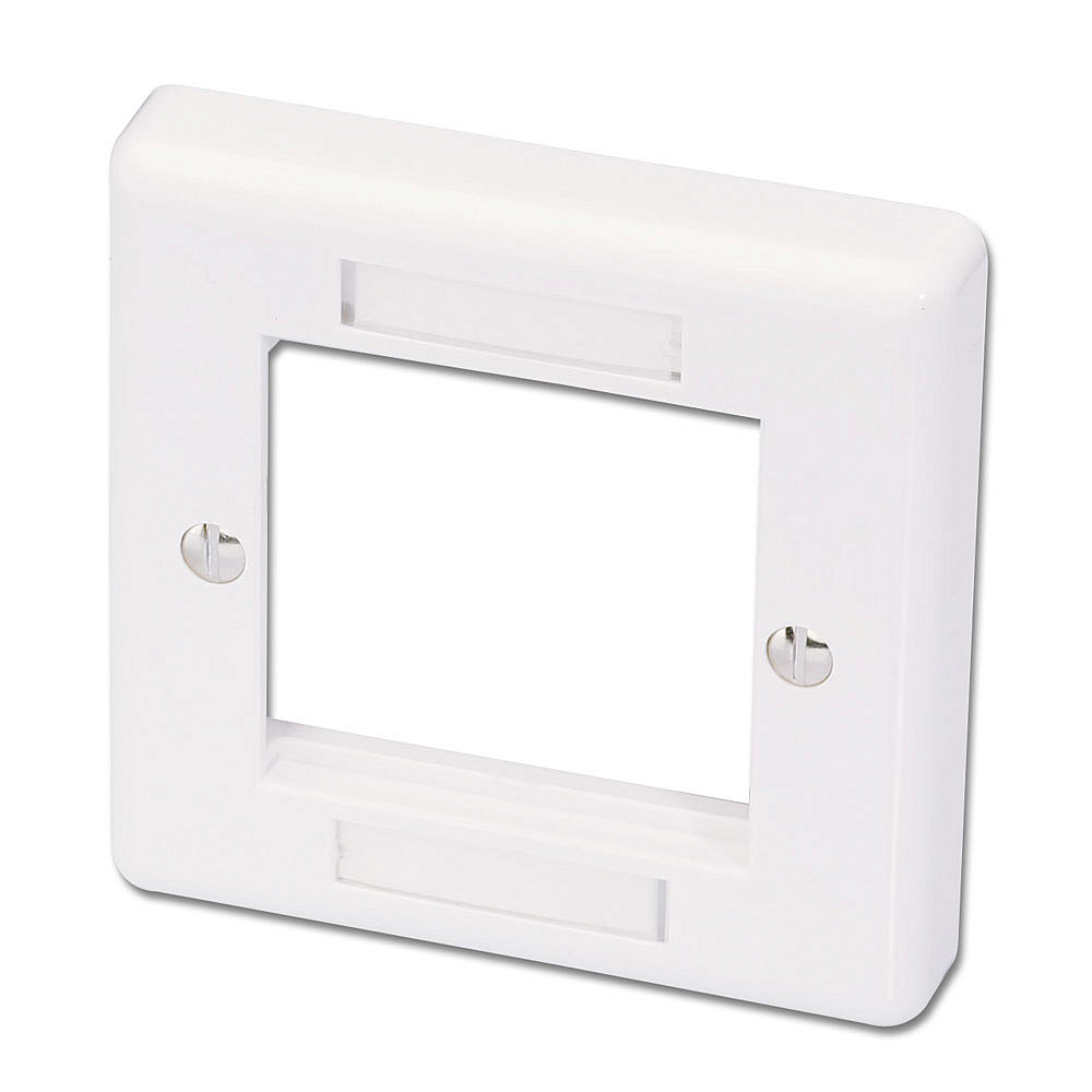 Wanddose 86x86mm UK f�r 2 Snap-In-Module und AV-Extender