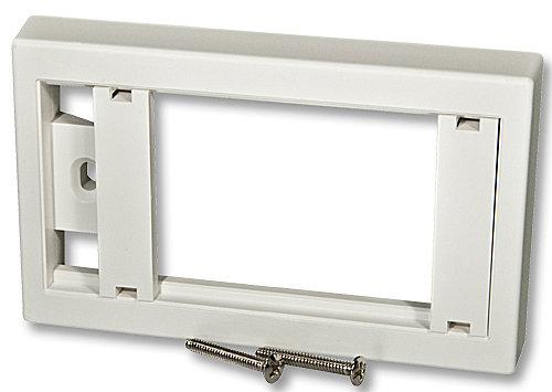 Wanddose 114x70 US/IT für 3 Snap-In-Module und AV-Extender
