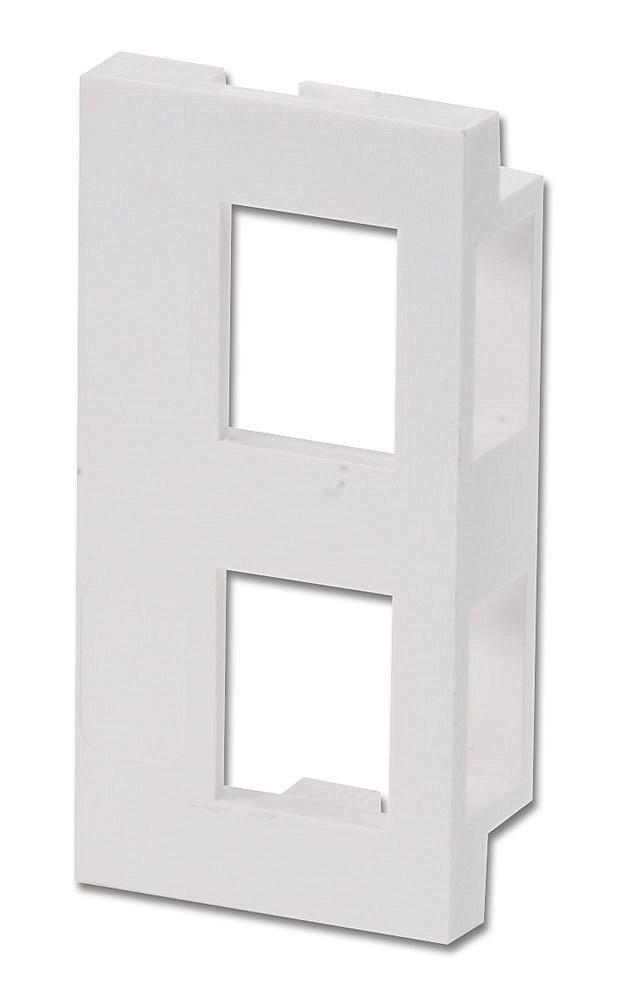 Snap-In-Modul für 2x Keystone für Wanddosen (4 Stück)