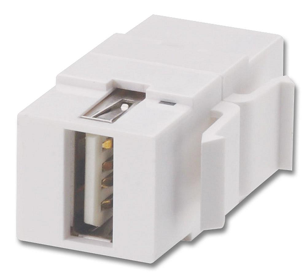 USB Typ A/B Doppelkupplungs-Keystone für Wanddosen