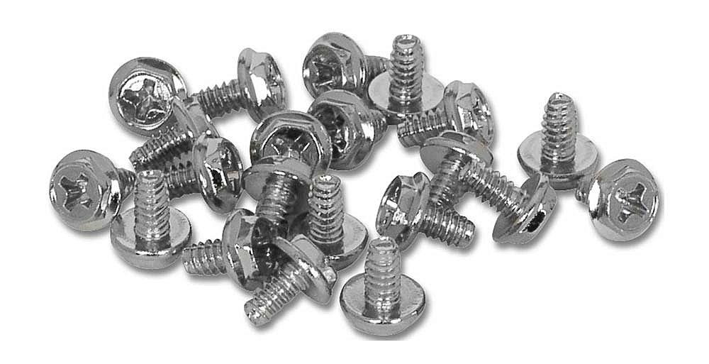 Schrauben 6-32 UNC x 6mm Sechskantknopf, 50 Stück