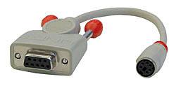 Maus-Adapterkabel MD6f/D9f, Autosensing