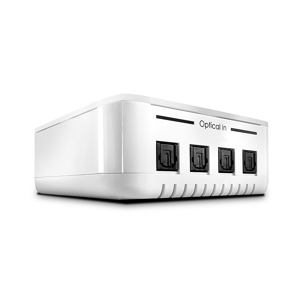 Audiosplitter Toslink S/PDIF 4 Port