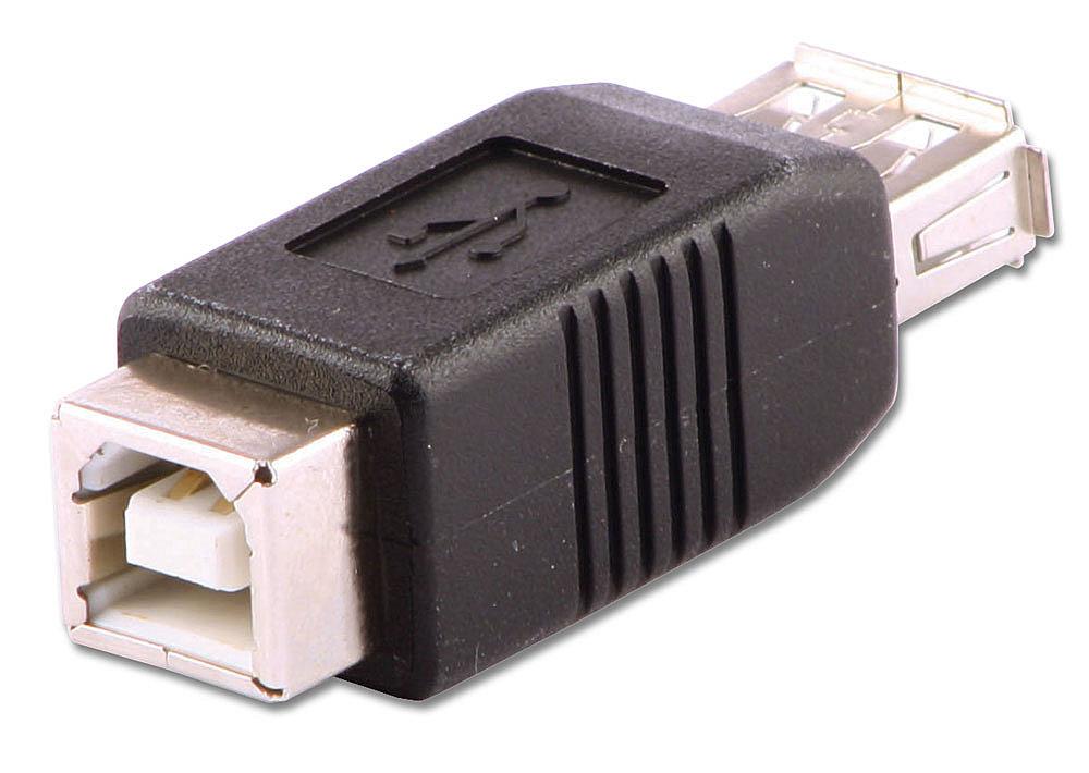 USB-Adapter Typ A/B Kupplung/Kupplung