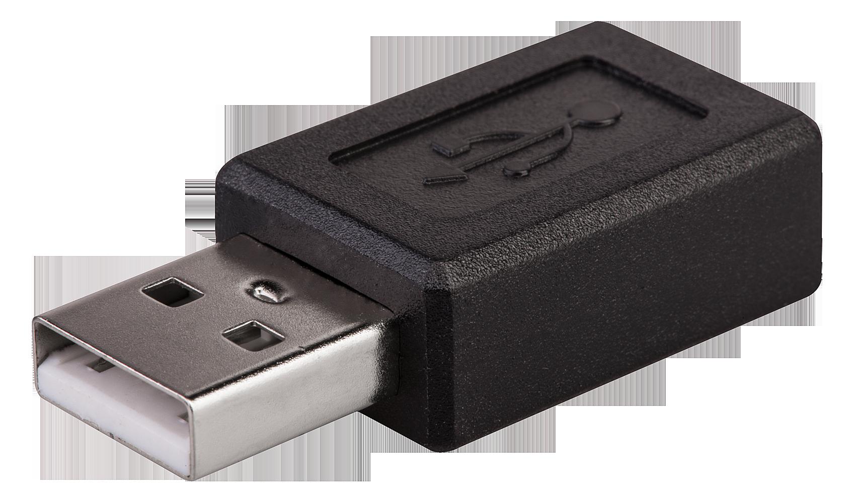 USB Adapter A (M) / Micro-B (F)