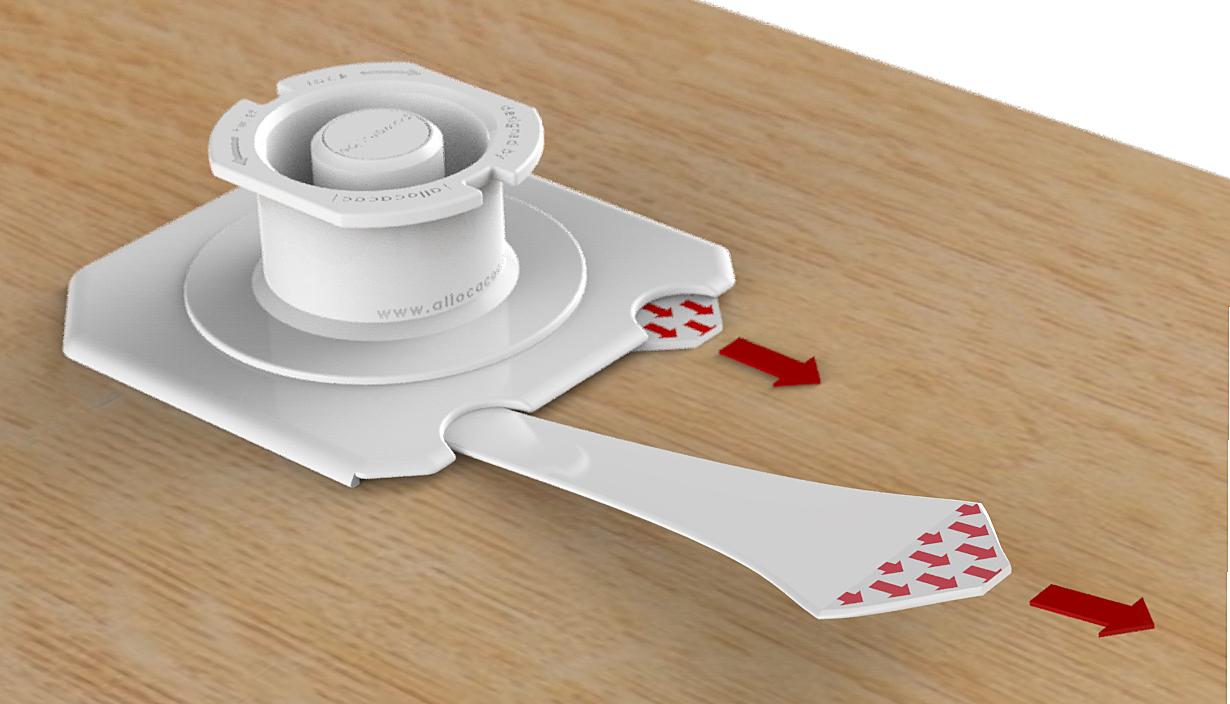 Halterung für Mehrfachsteckdose PowerCube