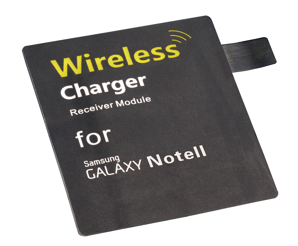 Samsung Note 2-Adapter f�r kabellose Qi-Ladestation