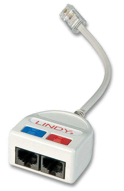 ADSL-Splitter (1x RJ45 - 1x RJ11 & 1x RJ45)