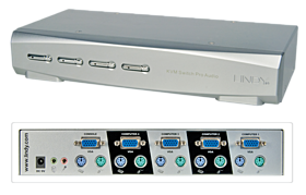 KVM Switch VGA 4Port
