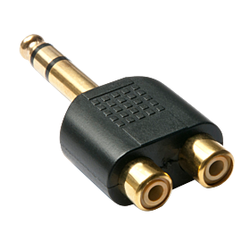 Stereo-Adapter 2,5mm/3,5mm