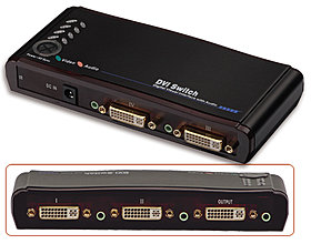 DVI Audio Switch