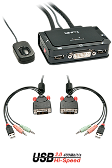 DVI KVM Switch