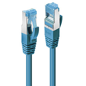 Patchkabel Cat.6A S/FTP blau 30m