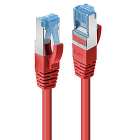 Patchkabel Cat.6A S/FTP rot 0,5m