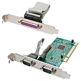 PCI Seriell/Parallel Adapter