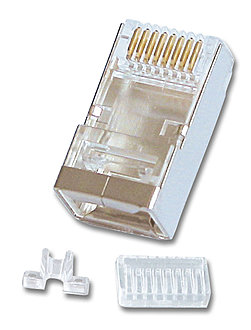 RJ45 Crimp-Stecker STP Cat.6