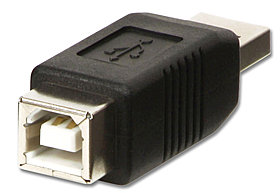 USB 2.0 Adapter Typ A/B
